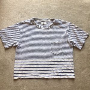 Madewell striped Tee size M